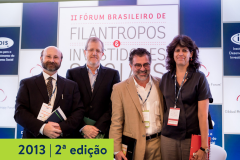 2013   2ª edição do Fórum Brasileiro de Filantropos e Investidores Sociais