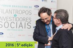 2016   5ª edição do Fórum Brasileiro de Filantropos e Investidores Sociais