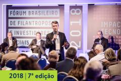 2018   7ª edição do Fórum Brasileiro de Filantropos e Investidores Sociais