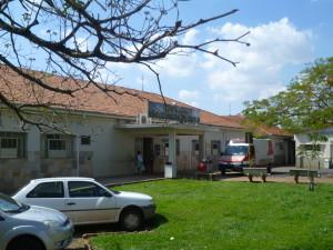 fachada Hospital Rio das Pedras