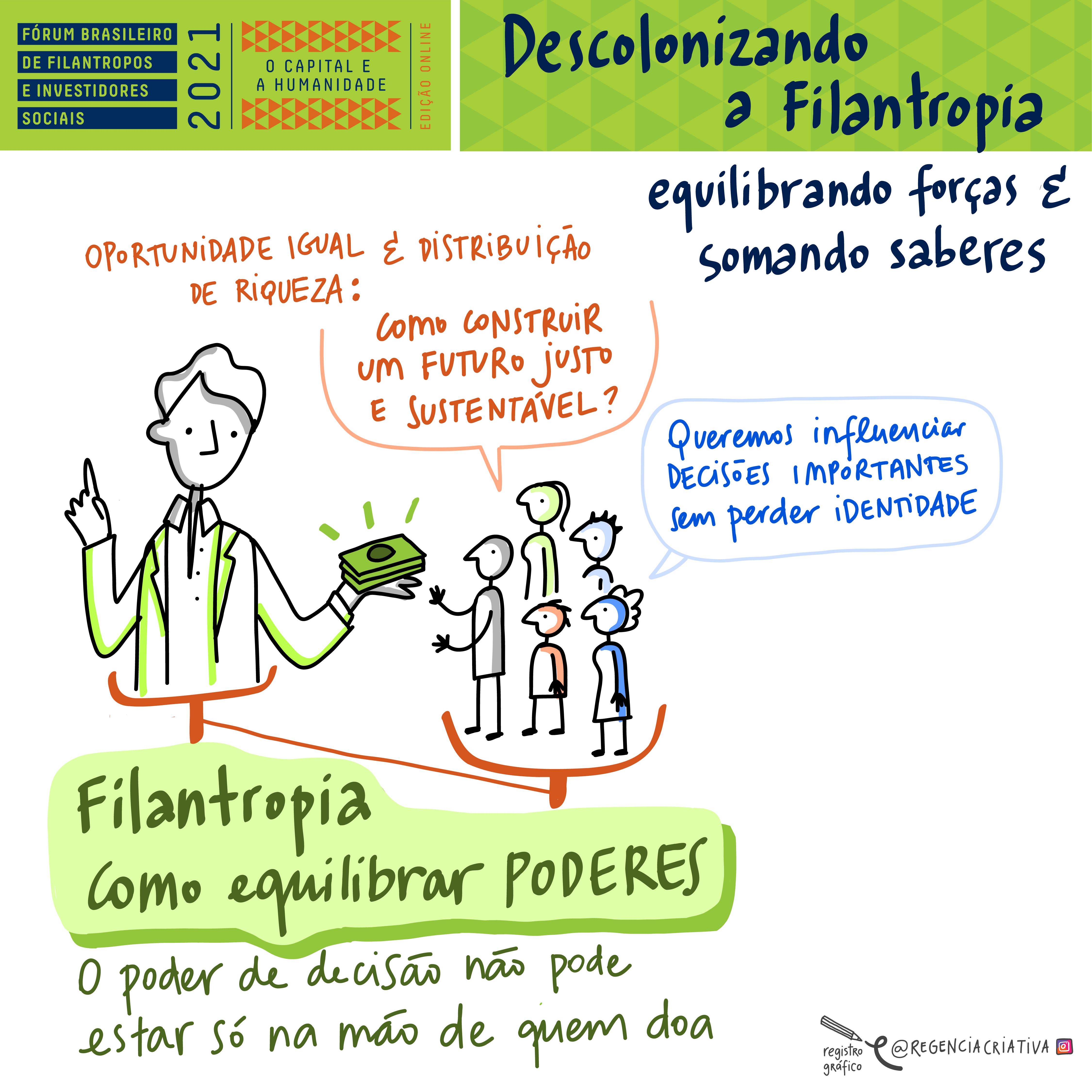 Descolonizando a Filantropia: equilibrando forças e somando saberes